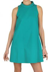 Gianluca Capannolo A-line Stretch Cotton Dress - Lyst