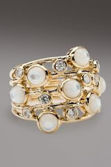 Ippolita Diamond & Mother-of-pearl Ring - Lyst