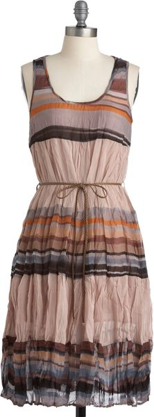 Modcloth Sunday Outing Dress in Multicolor - Lyst