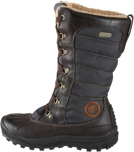 timberland womens earthkeepers mount lace duck