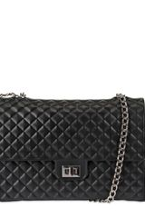 Designinverso Quilted Pvc Shoulder Bag - Lyst