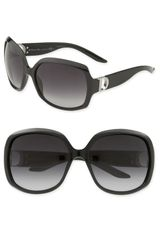 Dior Evening Logo Temple Oversized Square Sunglasses - Lyst