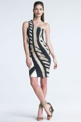 Donna Karan New York Serpent-print Dress - Lyst