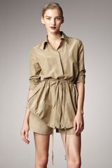 Donna Karan New York Parachute Jacket - Lyst
