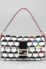 Fendi Optical Beaded Baguette - Lyst