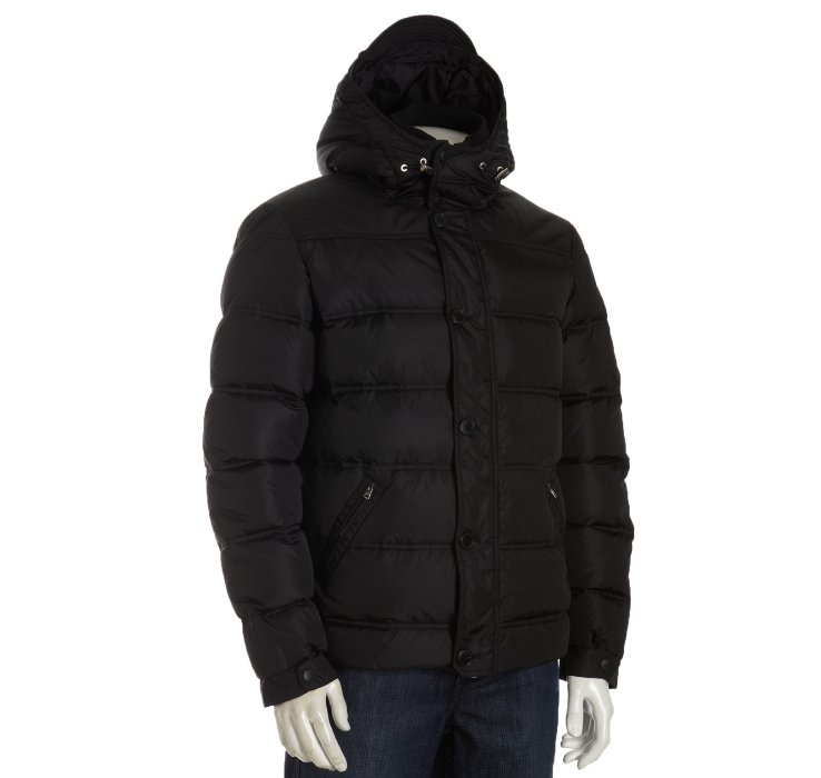 Lyst - Gucci Black Quilted Nylon Hooded Down Jacket in Black for Men : gucci quilted jacket - Adamdwight.com
