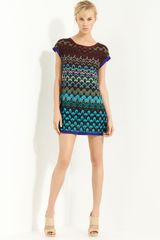 Missoni Cap Sleeve Tunic - Lyst