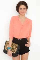 Nasty Gal Hampton Blouse - Lyst