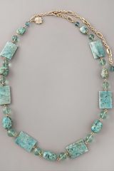 Stephen Dweck Turquoise Necklace - Lyst