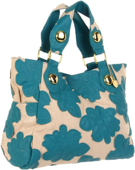 Big Buddha Hibto Tote in Blue (turquoise)