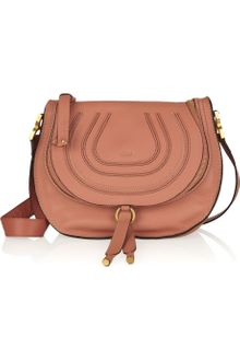 Chloé Marcie Leather Shoulder Bag - Lyst