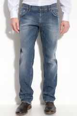 Dolce & Gabbana Washed Slim Fit Jeans - Lyst