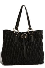 Ivanka Trump Quilted Shopper - Lyst