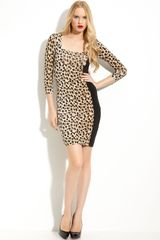 Just Cavalli Leopard Print Dress - Lyst