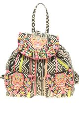 Asos Collection Asos Oversized Tex Mex Skull Backpack in Multicolor (multi) - Lyst