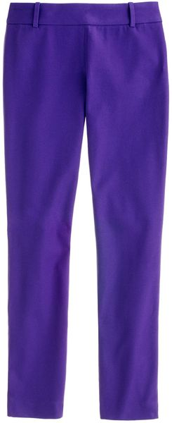 J.Crew Minnie Pant in Stretch Twill - Lyst