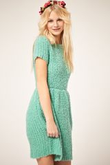 ASOS Collection Asos Dress with Textured Knit