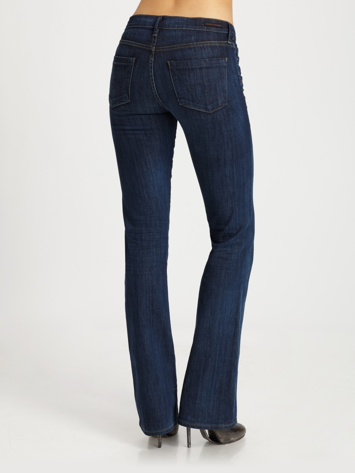 Amber mid rise bootcut jeans