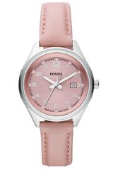 Fossil Flight Leather Strap Watch - Lyst