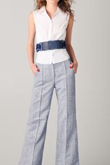 Viktor & Rolf Braided Waist Belt in Blue - Lyst