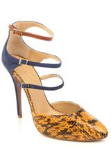 Vionnet Suede and Snakeskin Shoes - Lyst