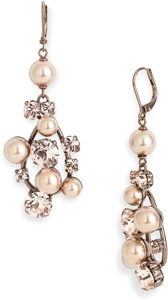 Givenchy Pine Street Drop Earrings - Lyst