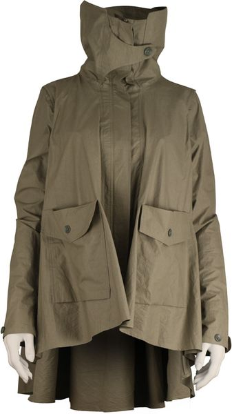Nicholas K 0237 Booker Jacket in Brown (algae) - Lyst