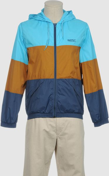 Wesc Raincoat in Blue for Men (black) - Lyst