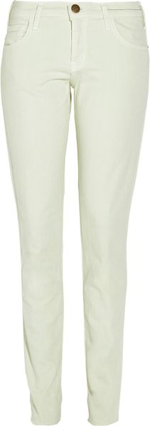 Current/elliott The Roller Pastel Mid-rise Boyfriend-fit Jeans in Green (mint) - Lyst