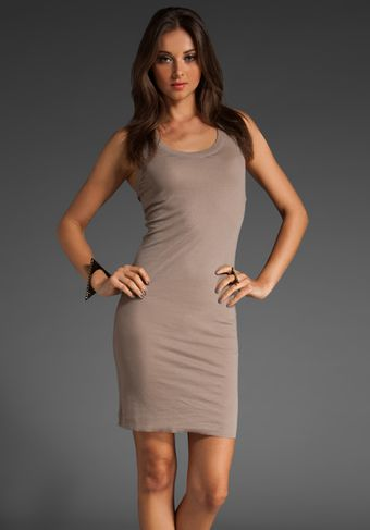 BCBGMAXAZRIA Basic Tank Dress - Lyst