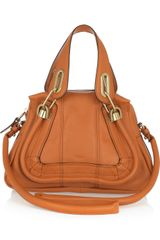 Chloé Paraty Small Leather Shoulder Bag - Lyst