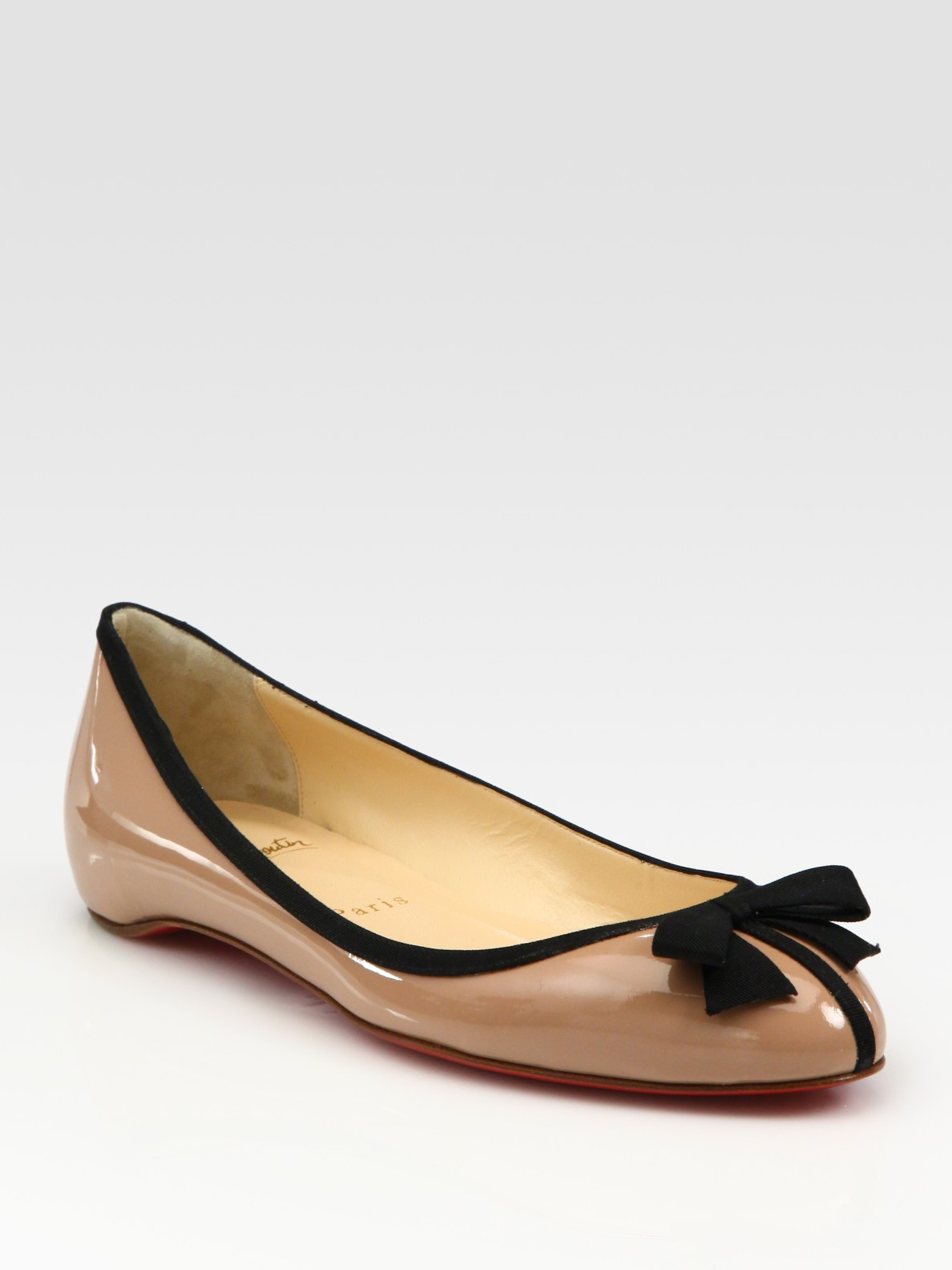 buy popular ce236 4b40a coupon code christian louboutin gloriana ballet flats d9755 ...