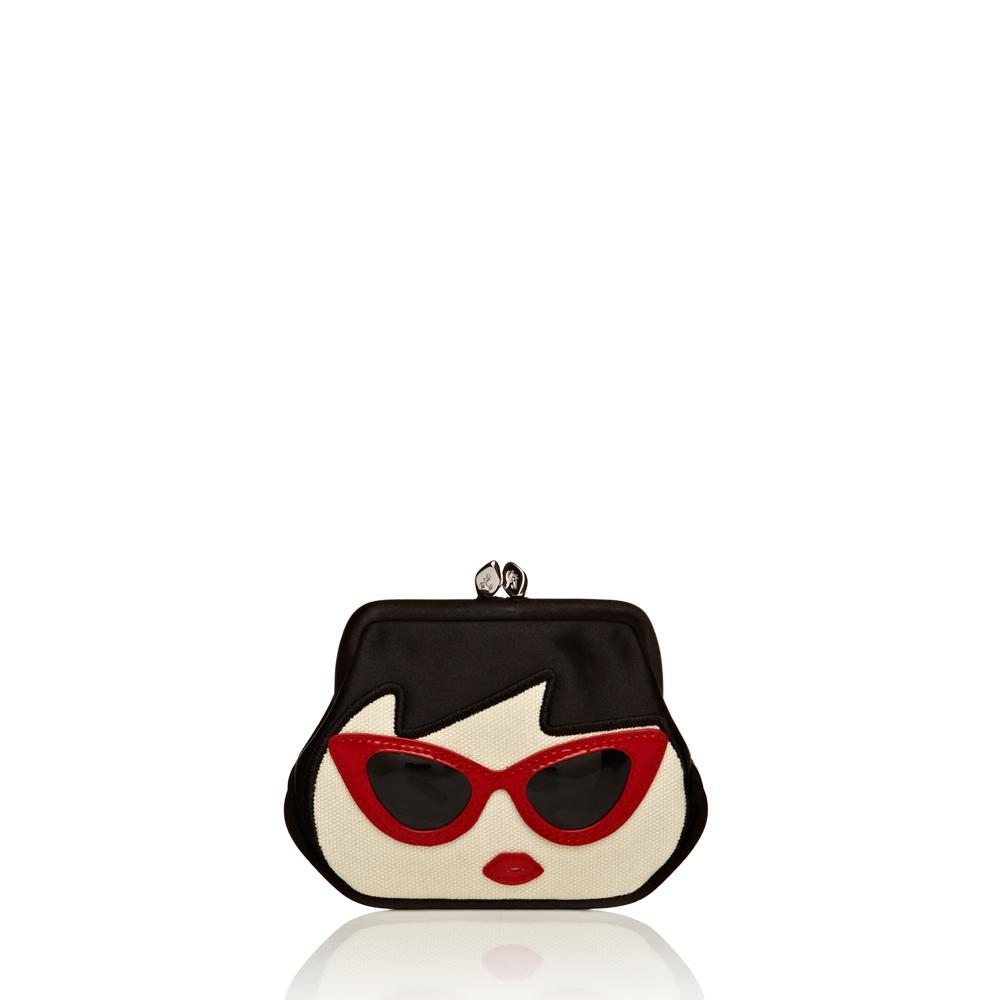 Lyst - Lulu Guinness Sunglasses Doll Face Mini Frame Purse