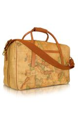 Alviero Martini 1a Classe 1a Prima Classe - Double Compartment Zip Travel Bag - Lyst