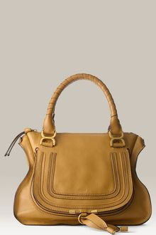 Chloé Marcie - Medium Calfskin Shoulder Bag - Lyst