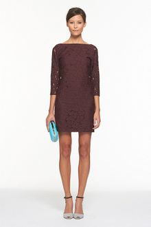 Diane Von Furstenberg Sarita Flower Lace Dress - Lyst