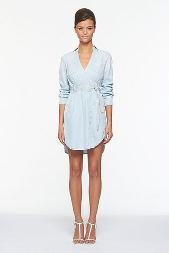 Diane Von Furstenberg The Denim Wrap Dress - Lyst