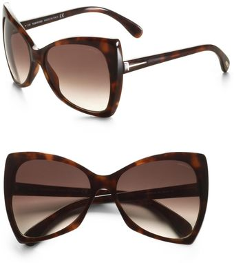 Tom Ford Nico Plastic Sunglasses - Lyst