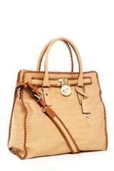 Michael by Michael Kors Hamilton Large Whipped North South Tote - Lyst