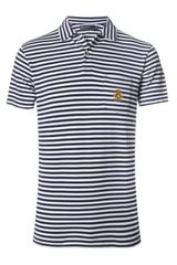 Polo Ralph Lauren Stripe Mesh Polo Shirt - Lyst
