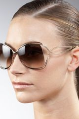 Roberto Cavalli Open-temple Metal Sunglasses - Lyst