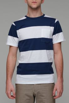 Saturdays Surf Nyc Randall Block Stripe - Lyst