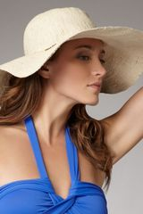 Seafolly Straw Hat - Lyst