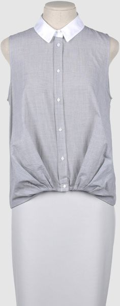 Boy by Band Of Outsiders Boy By Band Of Outsiders - Sleeveless Shirts - Lyst
