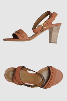 Chloé High-heeled Sandals - Lyst