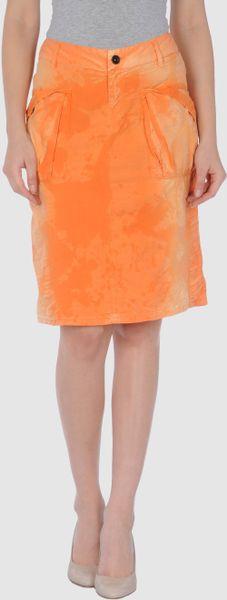 dake-orange-dake-knee-length-skirts-product-1-2823205 ...