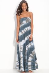 Hard Tail Long Strapless Dress - Lyst