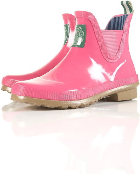 Joules Chelsea Boot Wellybobs In Pink Lyst