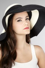 Eugenia Kim Wide-brimmed Striped Hat - Lyst