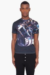 Christopher Kane Black Motif T-shirt - Lyst